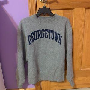 NEVER WORN. Georgetown crewneck
